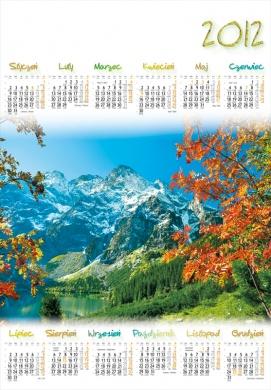 kalendarze planszowe, kalendarze planszowe B1, kalendarze planszowe kwiaty, kalendarze planszowe słoneczniki, kalendarze planszowe ścienne