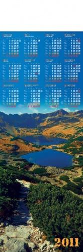 kalendarze planszowe, kalendarze planszowe paskowe, kalendarze planszowe widoczki, kalendarze planszowe góry, kalendarze planszowe jeziora